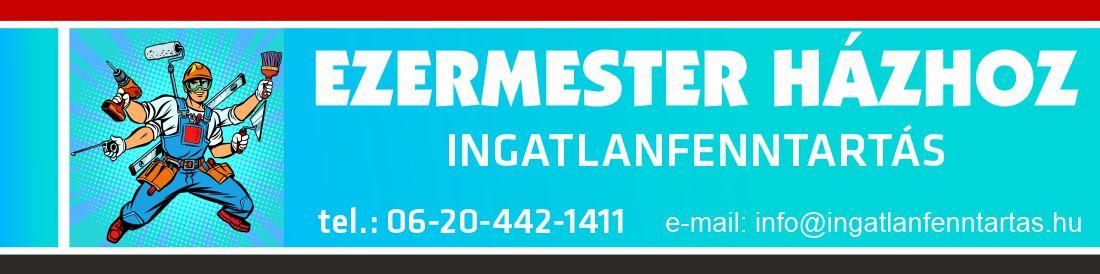 Ingatlanfenntartás Logo
